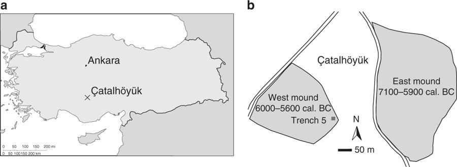 Çatalhöyük Map