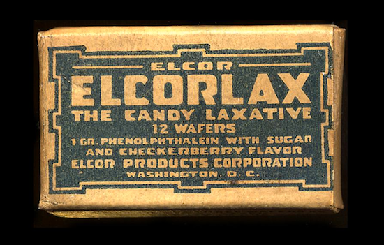 Candy laxative fans had multiple options.
