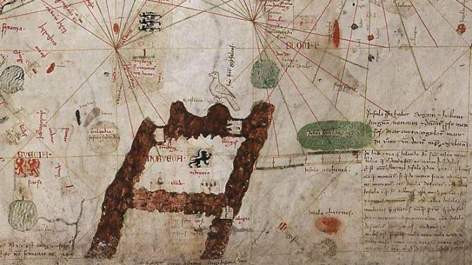 Angelino de Dalorto's 1339 portolan