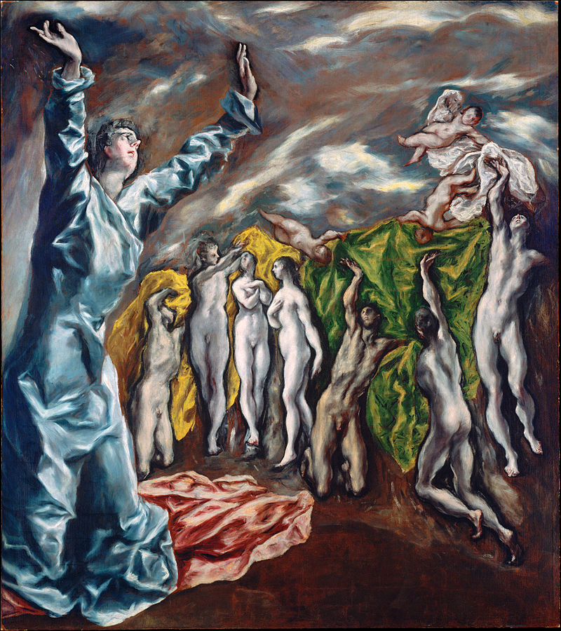 El Greco: Apocalyptic Vision {The Vision of St. John)