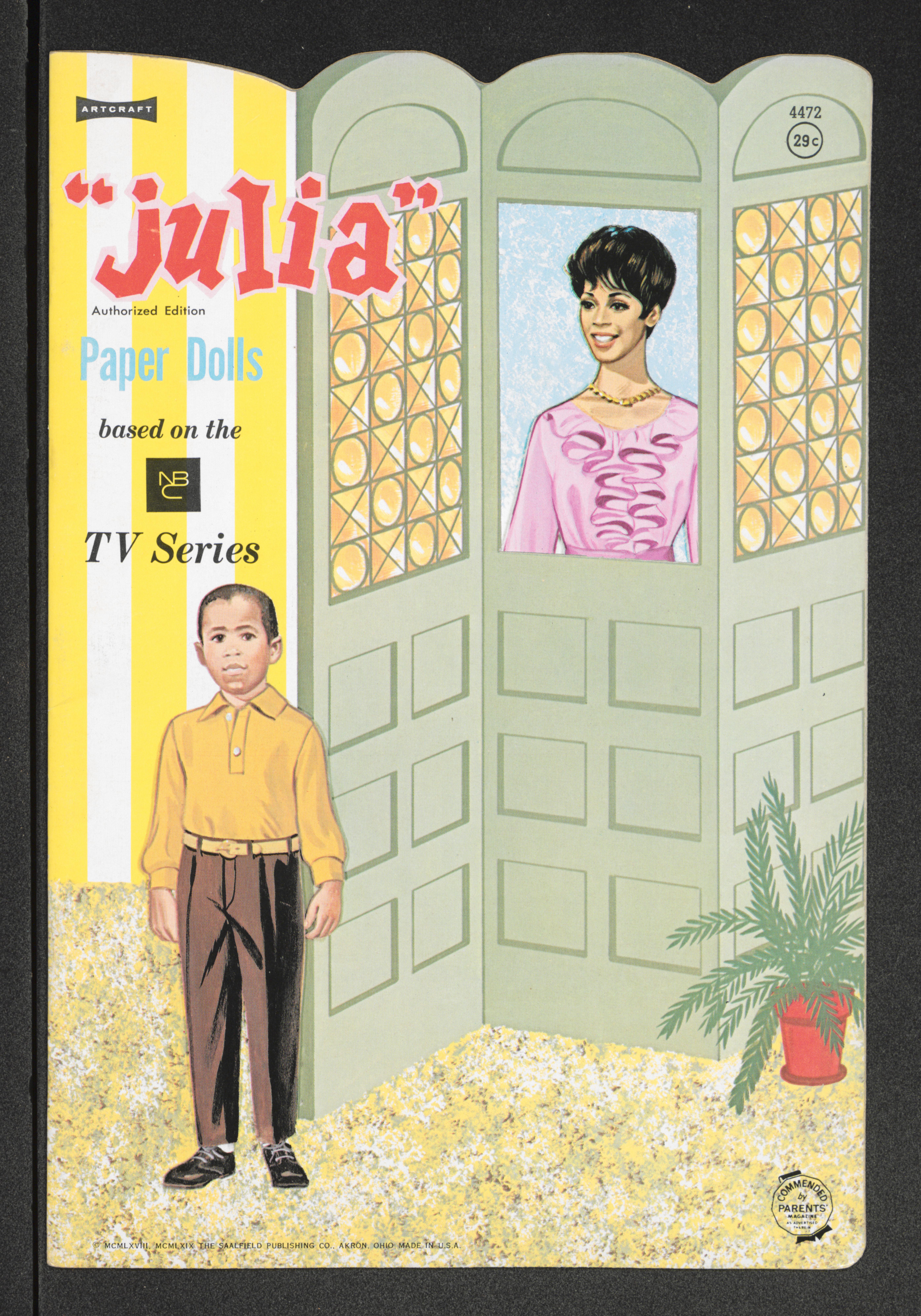 Julia paper dolls