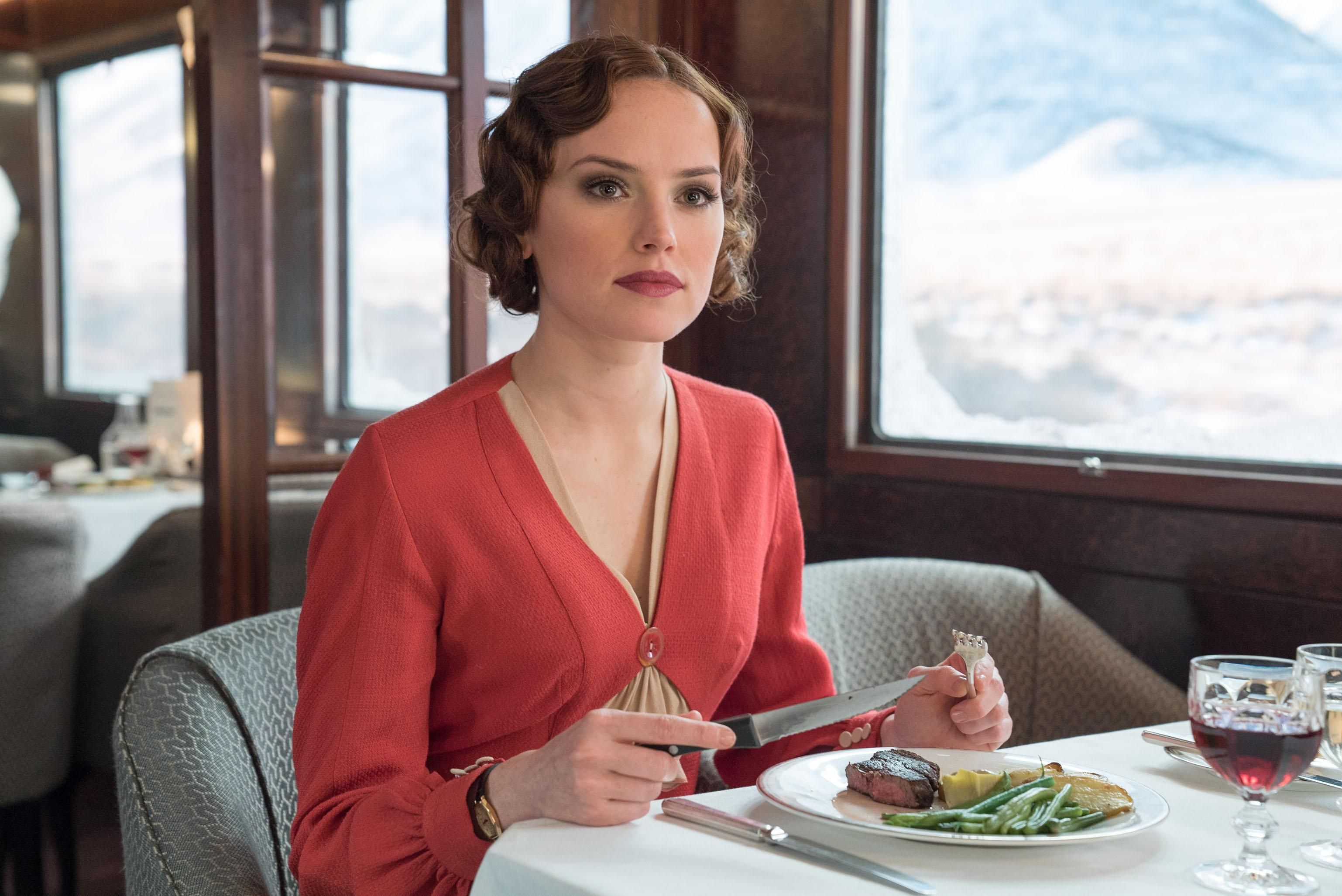 "Daisy Ridley stars in Twentieth Century Fox's ""Murder on the Orient Express."""