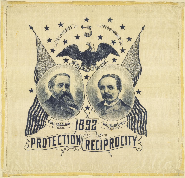Harrison Campaign Poster