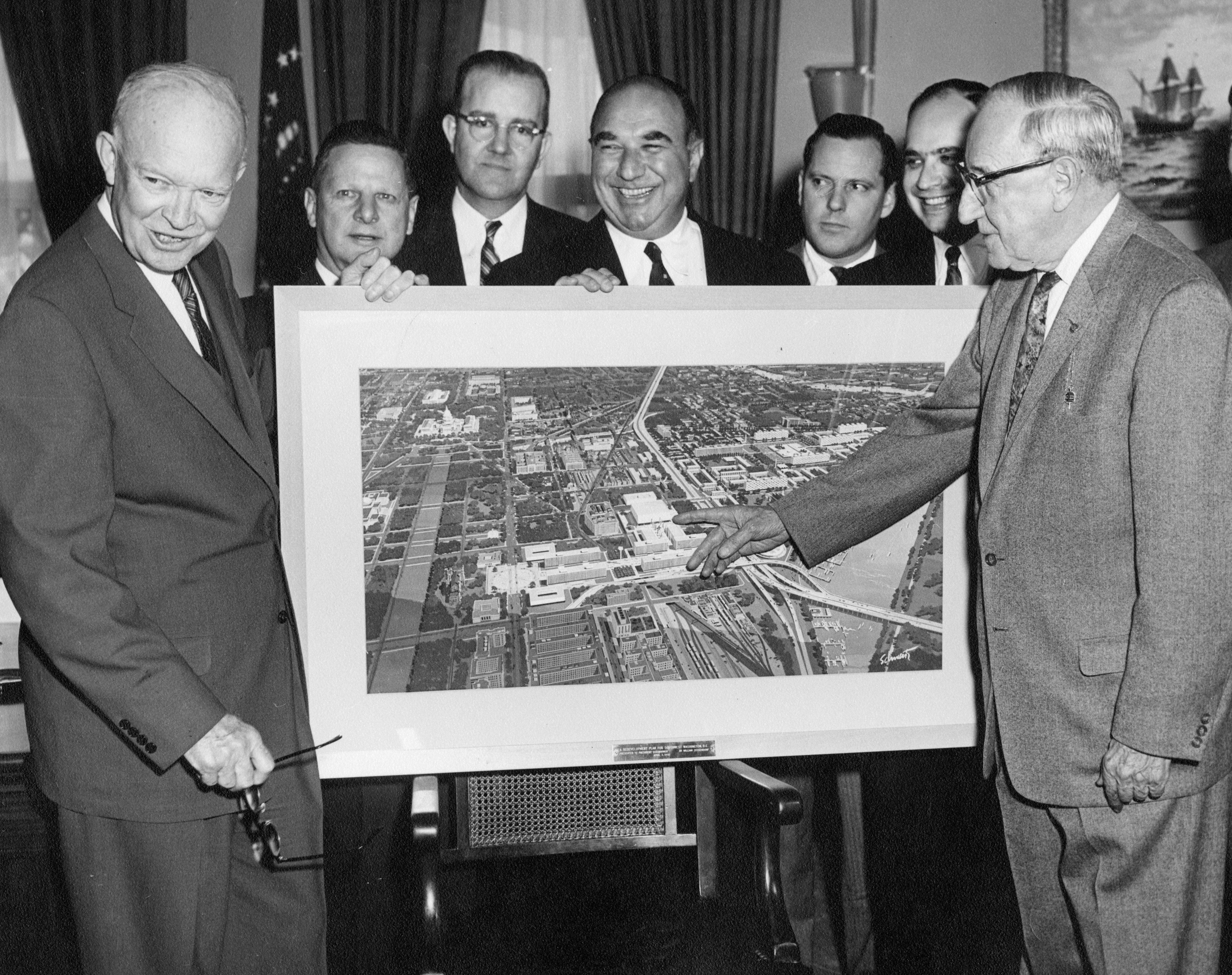 Eisenhower, urban renewal