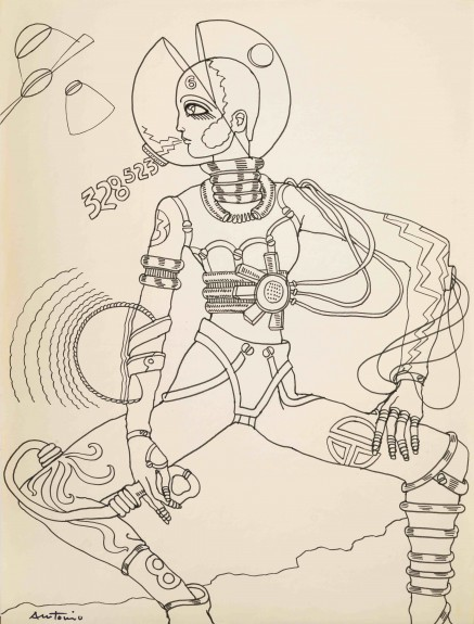 Personal study, Space People, 1965
