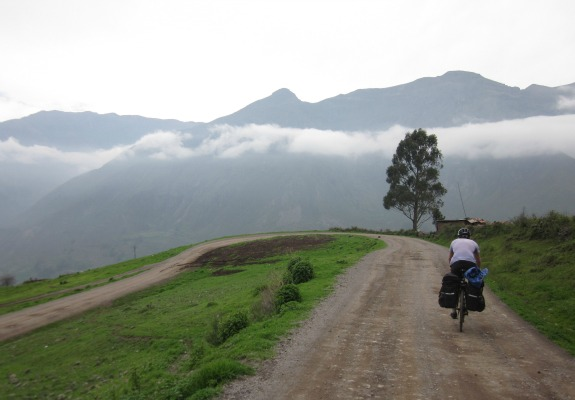 Two miles above sea level, the greenery and solitude is a world of difference from Lima.