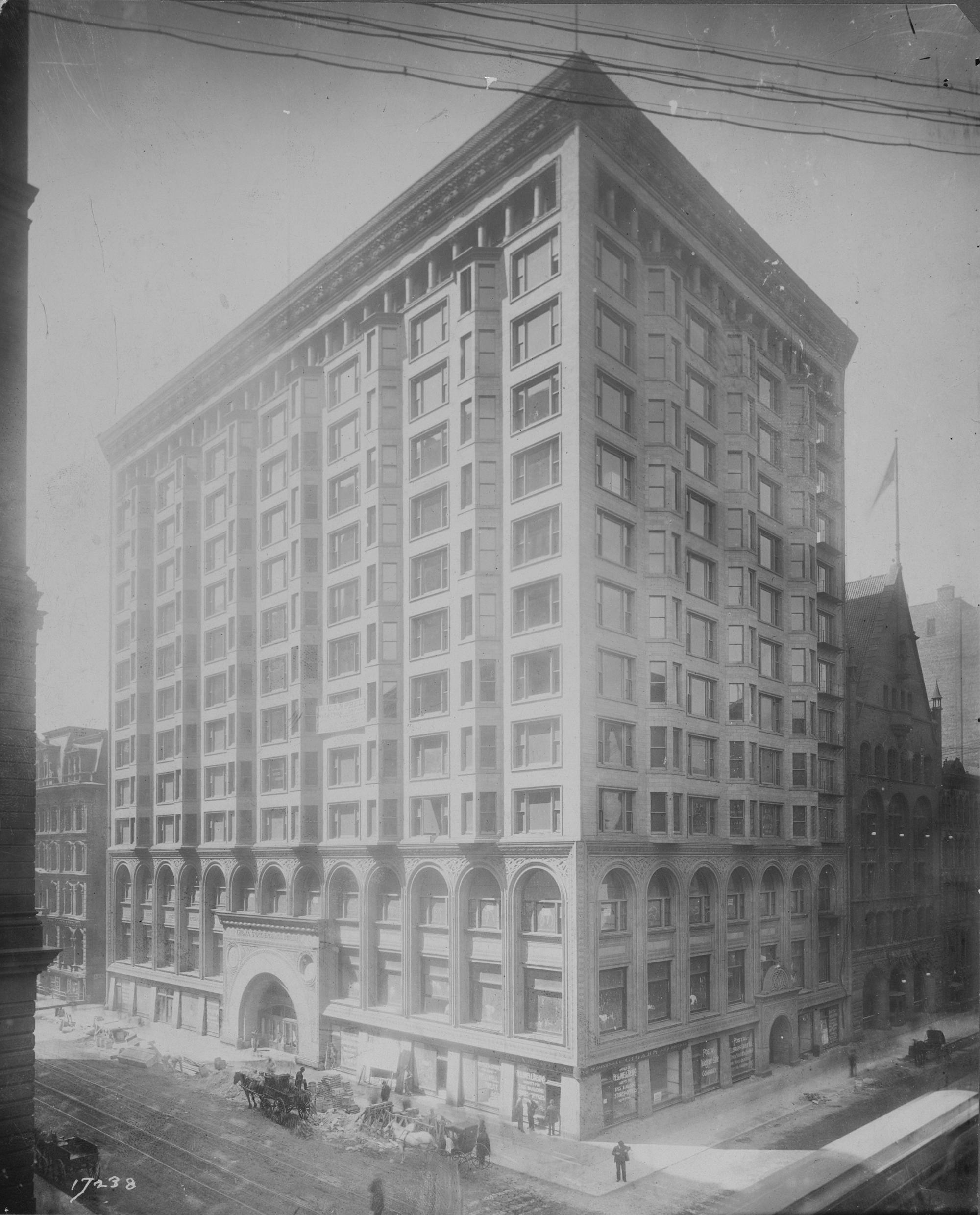 Old Chicago Stock Exchange Building, ca. 1894