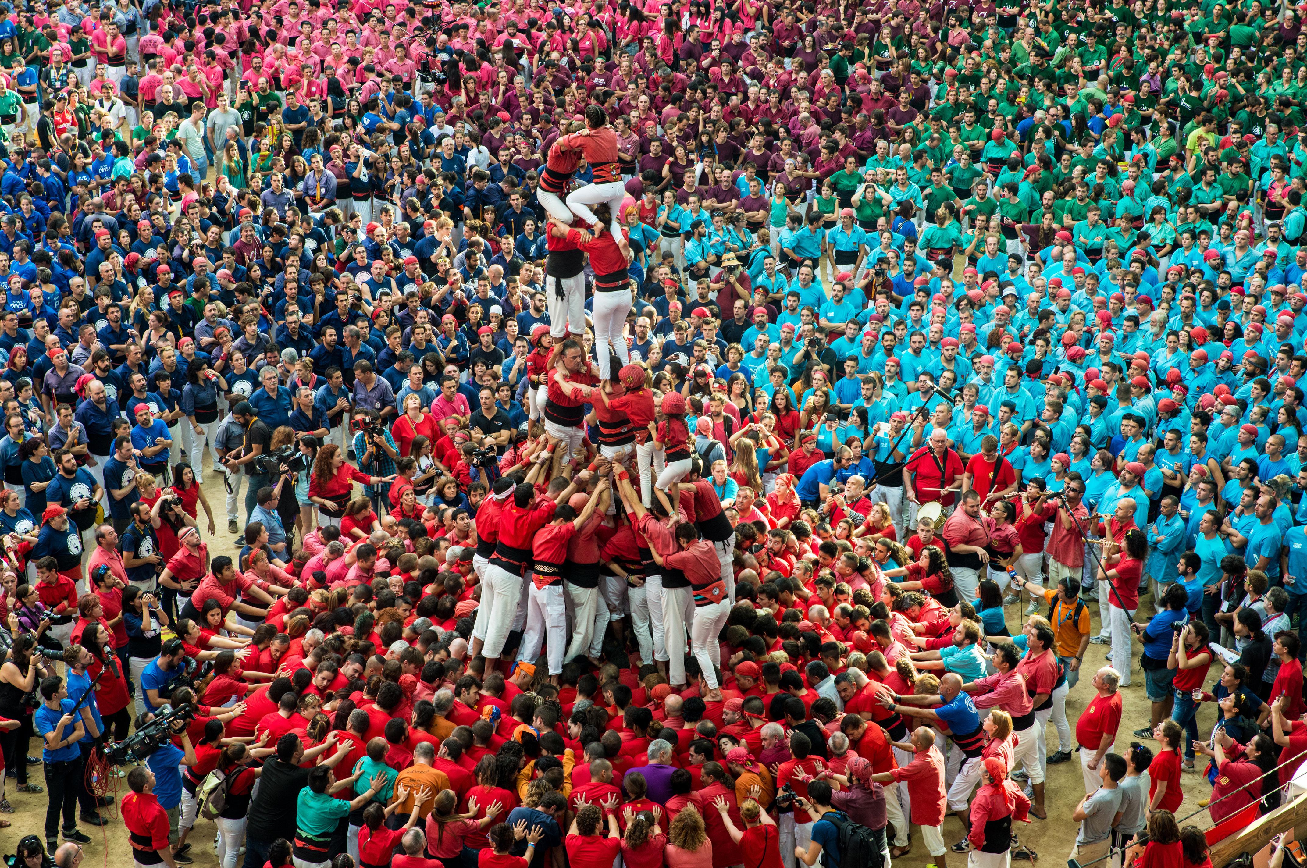 Tarragona Human Towers by  María Ibáñez, Photo Contest