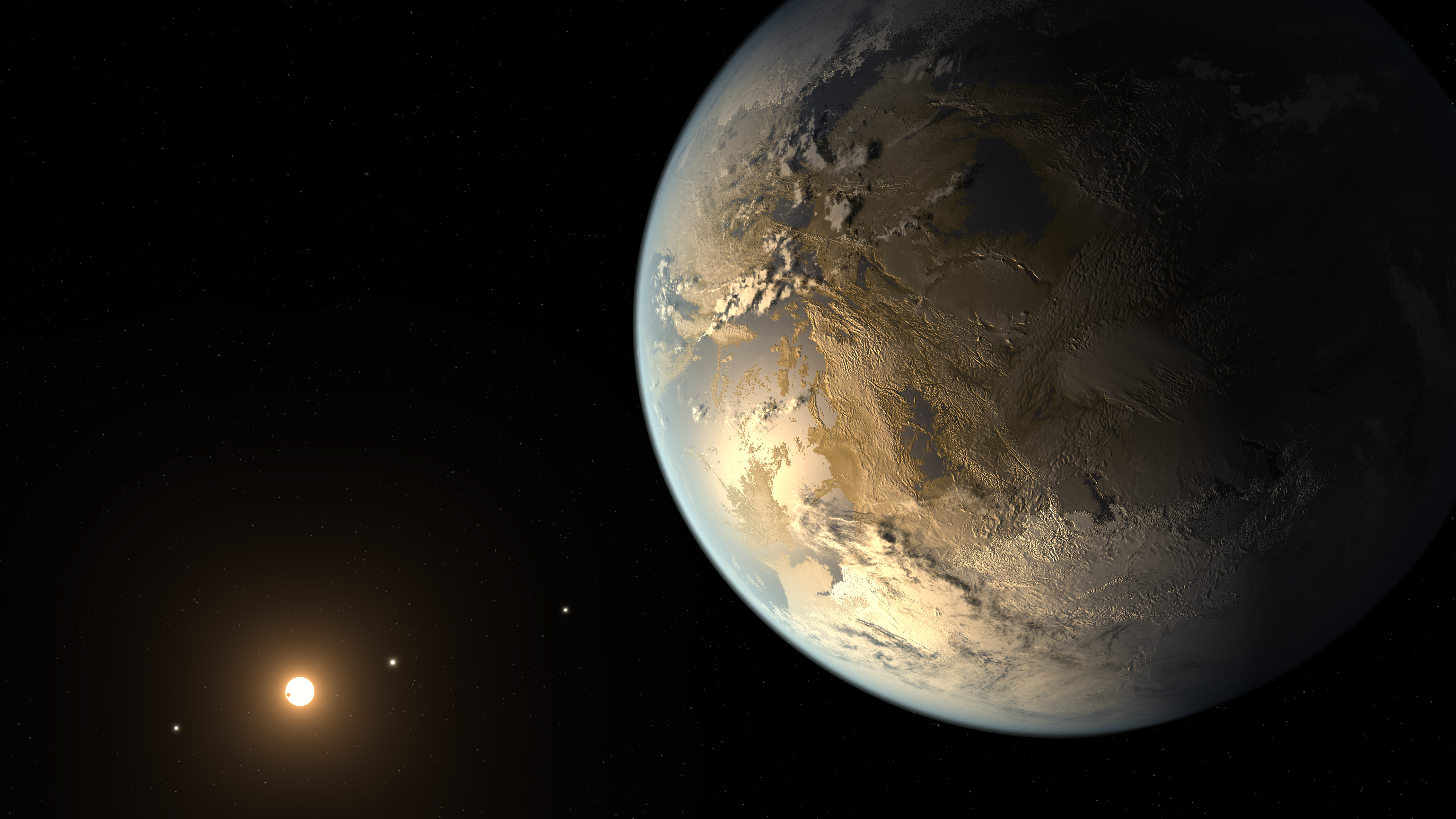 artistic concept of Kepler