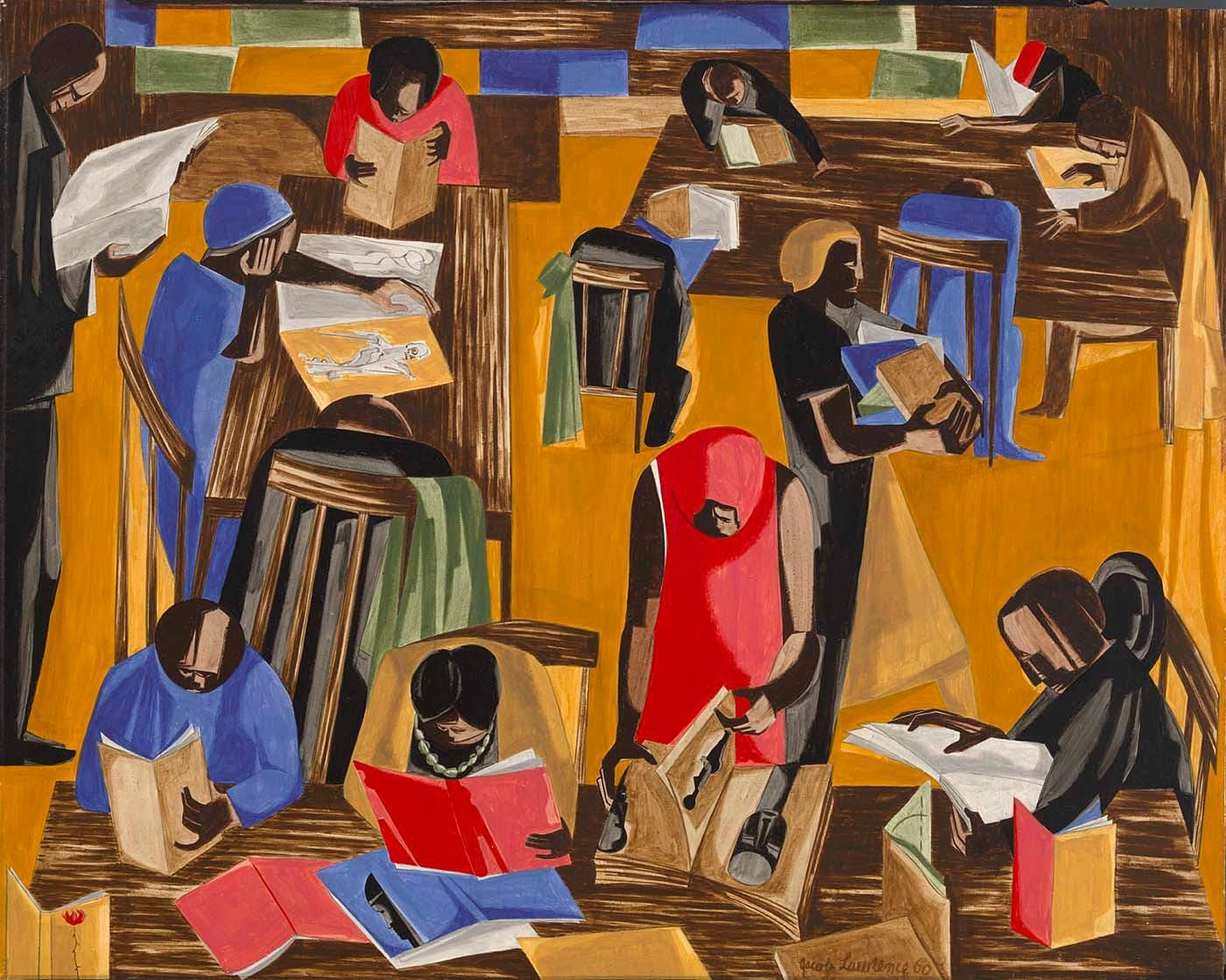 Why The Works Of Visionary Artist Jacob Lawrence Still Resonate A - Artist suffering from depression illustrates his struggles with mysterious dark paintings