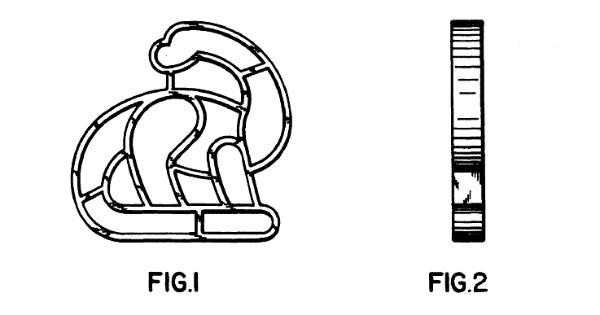 Brontosaurus shaped pasta