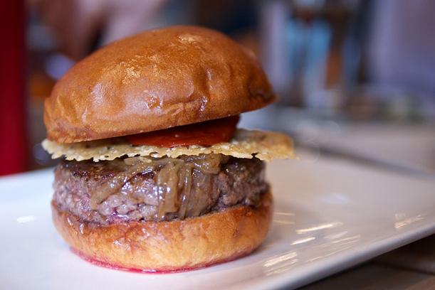 A highly glutamic burger from Umami Burger.