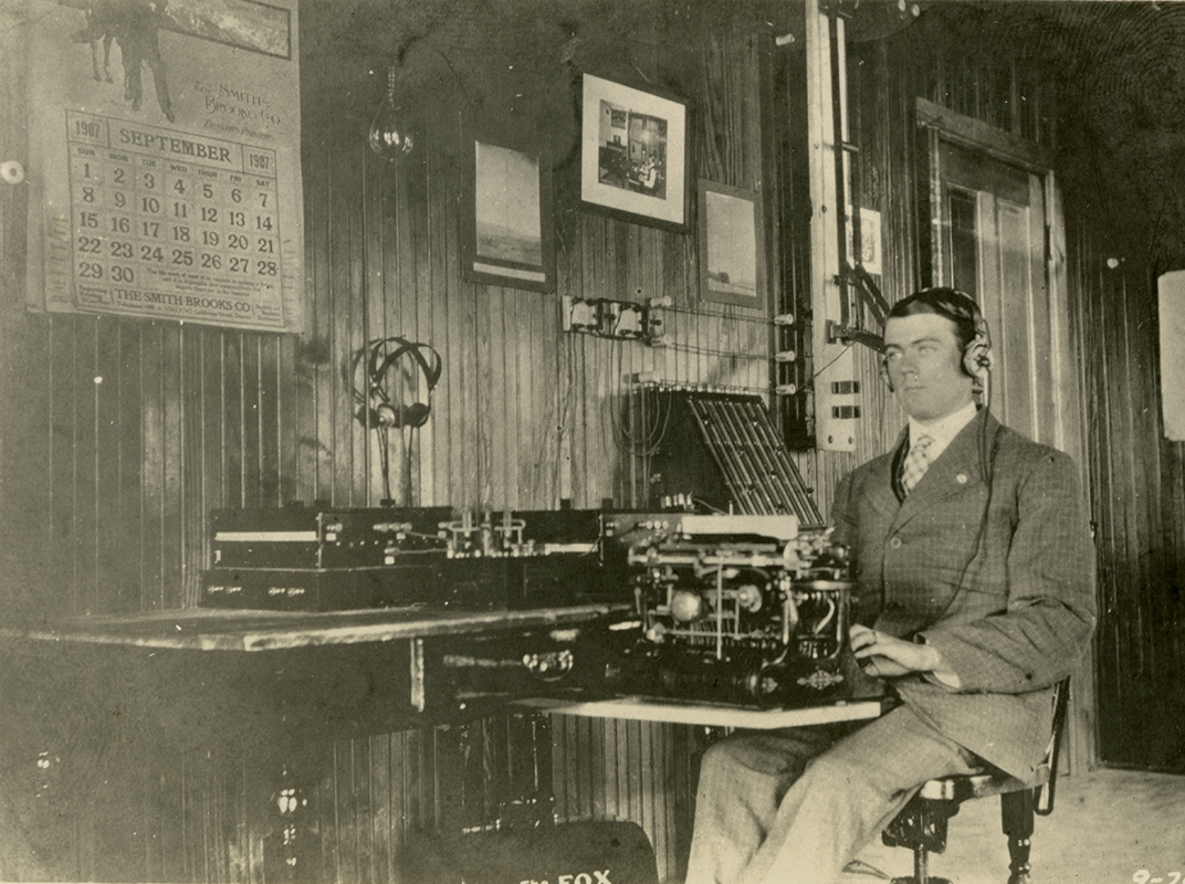 Pickerill served as a DeForest Wireless Telegraph operator