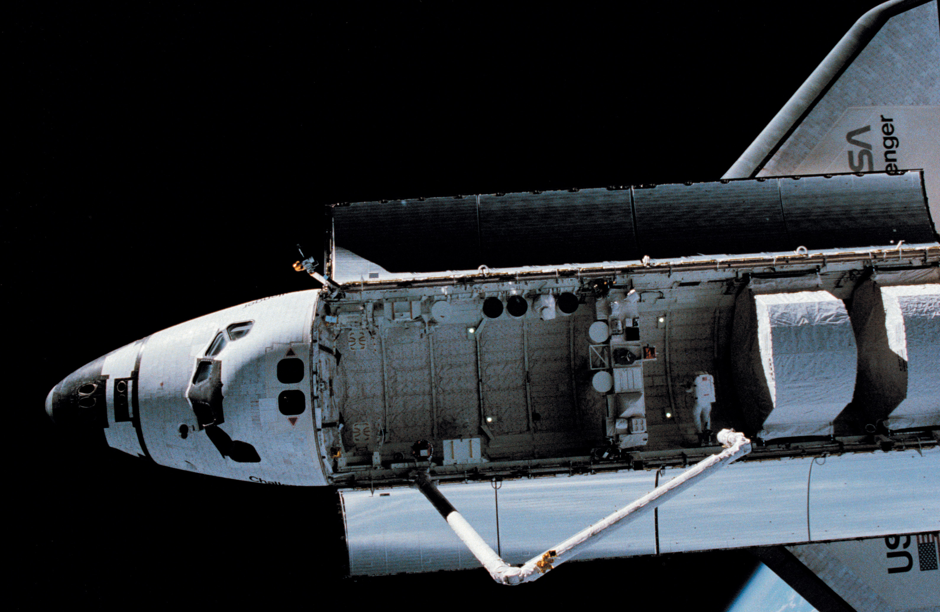 space shuttle challenger payload - photo #37