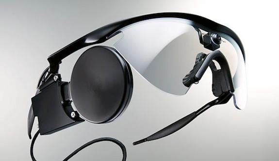 Users of the implant wear a pair of glasses
