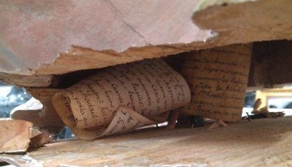 Message From the Past Found Inside Spanish Statue of Jesus