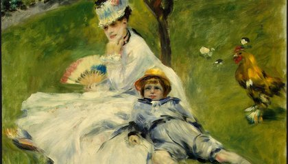 The Art Monet Owned