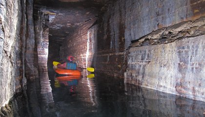 Winding Ice Age Cave Discovered Beneath Montreal