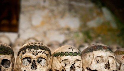 This Austrian Ossuary Holds Hundreds of Elaborately Hand-Painted Skulls