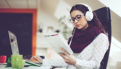 Got Writer's Block? Try Listening to Happy Music