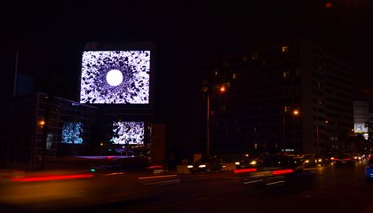 These Billboards Could Be the First to Feature Immersive Virtual Reality Drawings