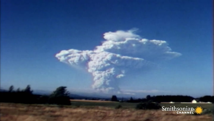 Footage of the 1980 Mount St. Helens Eruption   Smithsonian