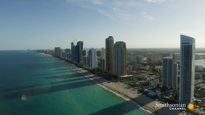 """OMG! OMG! Miami is going to turn into a sandbar! Instead on """"Moon Over Miami"""" it'll be """"Moon Over Sand Yego""""."""